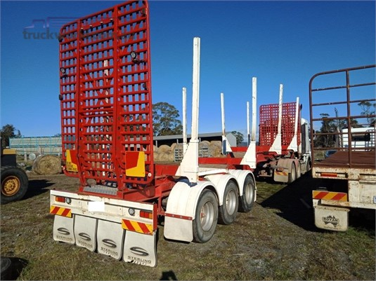 1900 Freighter Tri Axle Log Skel - Trailers for Sale