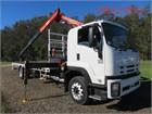 2009 Isuzu FTR 900 Long Crane Truck