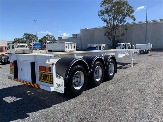 2020 Panus Skeletal Trailer - Trailers for Sale