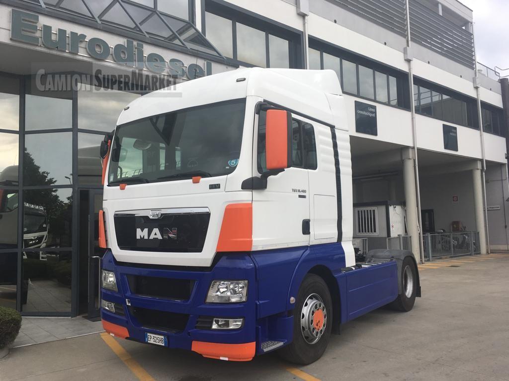 MAN TGX18.480BLS used 2013