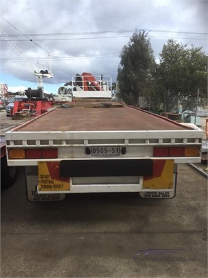1985 Krueger Skeletal Trailer Hume Highway Truck Sales - Trailers for Sale
