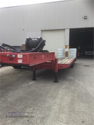 1989 Lombardi Low Loader Platform Hume Highway Truck Sales - Trailers for Sale
