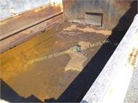 1997 INTERNATIONAL 4900 W/ 9' DUMP BODY