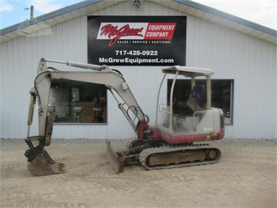 TAKEUCHI TB135 Mini Excavator Auction Results - 1 Listings