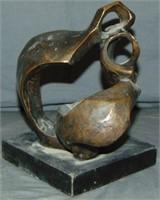 Bronze and Brass Seven Piece Lot.