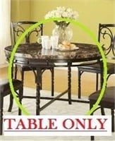 BURRIL DINING TABLE(NOT ASSEMBLED) TABLE ONLY
