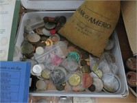 Assorted Coin Collection (Police Evidence)