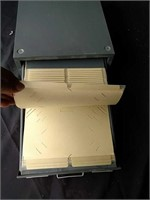 Industrial file box