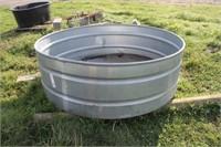 Tarter 390 Gallon Round Galvanized Water Tank