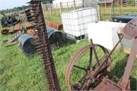 McCormick Deering No 7 Antique Hay Mower