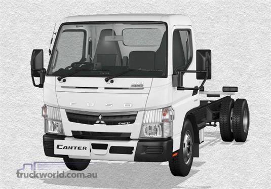 Fuso Canter 4x2 413 City Cab SWB 6 Sp. DCT