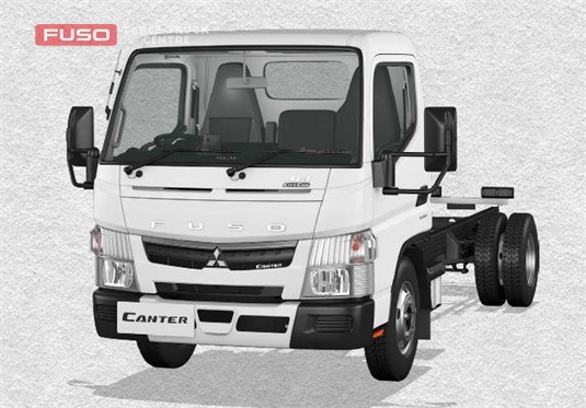 Fuso Canter 4x2 413 City Cab SWB 6 Sp. DCT