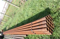 (24) 2 7/8 X 32 FT 9 IN METAL PIPE