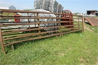 4 EXTRA LONG PANELS (1) 25 FT (3)21 FT