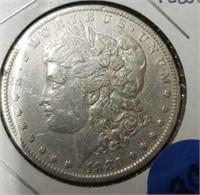 1880 O us morgan silver dollar 90% silver