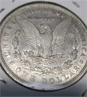1880 us morgan 90% silver dollar collector coin