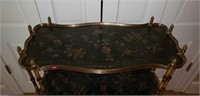 Handpainted French Style 3 Tier Display Shelf