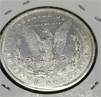 1880 O polished us morgan $1 collector coin