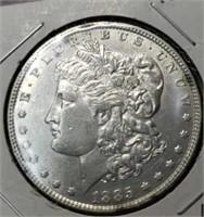 1885 morgan silver $1 collectable coin