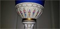 Antique Handpainted Porcelain Urn Vase WOW