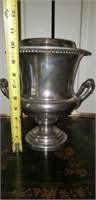 Vintage Silverplate on Copper Wine Bucket