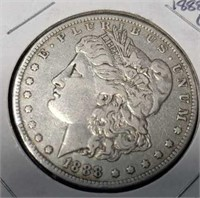 1888 O morgan silver $1 collectable coin
