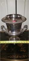Vintage Silverplate on Copper Wine Bucket #2