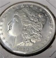 1890 morgan silver $1 collectable coin