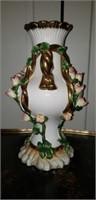 Beautiful Porcelain Jeanne Reed's Vase Floral