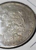 1896 morgan silver $1 collectable coin