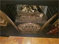 Gorgeous Cast Iron Fire Place Grate