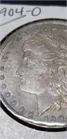 1904 O Morgan silver $1 collectable coin