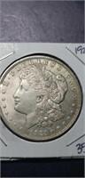 1921 Morgan Silver $1 collectable coin.