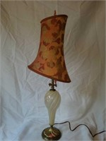 Beautiful Blown Glass Decorative Lamp