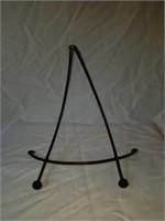 Primitive Round Wooden Bowl & Stand
