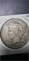 1935 peace silver collectable coin