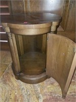 Beautiful Wooden Round Side Table