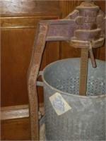 Antique Metal Rocken Rine Washing Machine