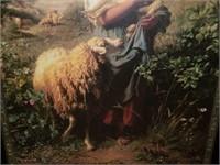 """""""Yound Shepherd"""" Print on Board by Hofner"""