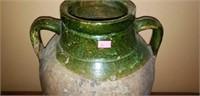 Vintage Large Pottery Wine Water Vase Vessel
