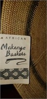 African Makenge Basket Strong Post & Stand