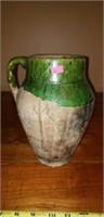 Great Vintage Pottery Vessel Jug Utility