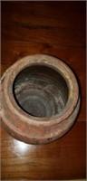 Vintage Pottery Vase Utilitarian Jug Jar