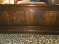 Beautiful Kind Size Wooden Henkel-Harris Bed