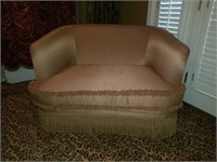 Vintage Upholstered Oversized Chair