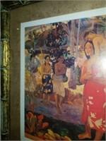 Beautiful Framed IA ORANA MARIA Print