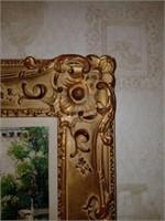 GORGEOUS Gold Gilded Framed Oil on Canvas
