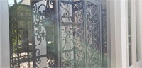 Heavy Architectural Iron Patio Storage