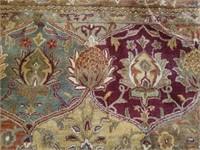 Vintage Jaipur Collection 100% Wool Room Rug