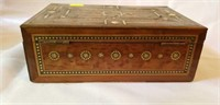 Beautiful Antique Mother of Pearl inlaid box